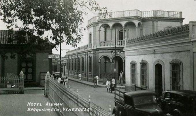 Hotel Alemán, hoy casa Eustoquio Gómez