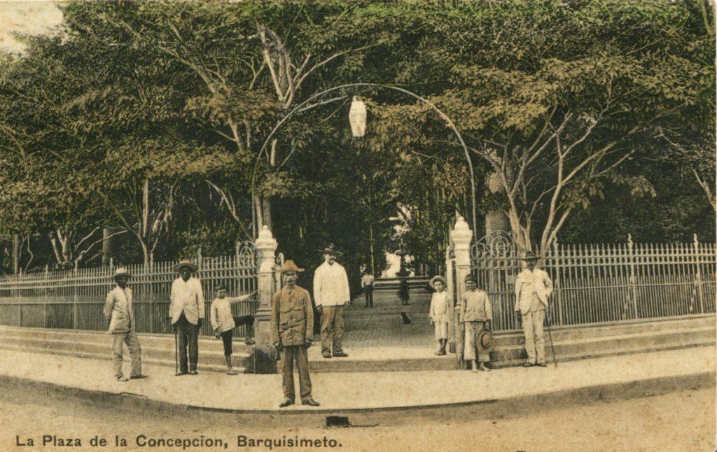 Plaza de la Concepción, hoy Plaza Bolívar de Barquisimeto