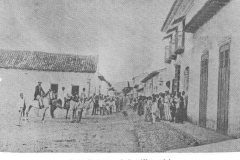 Calle Bolívar Quíbor Venezuela