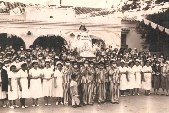 Visita de la Imagen Sagrada de la Divina Pastora al Hospital Luis Gómez López de Barquisimeto