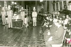 Capilla ardiente de Raúl Leoni en el Congreso Nacional