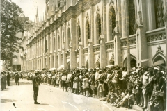 El pueblo caraqueño rindió tributo a Raúl Leoni