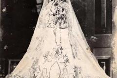 Imagen de la Virgen del Valle cuya foto fue tomada en 1936