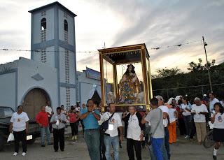 Divina Pastora realizó periplo por zona rural