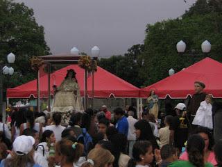 Divina Pastora visita Agua Viva por tercera vez en su periplo mariano