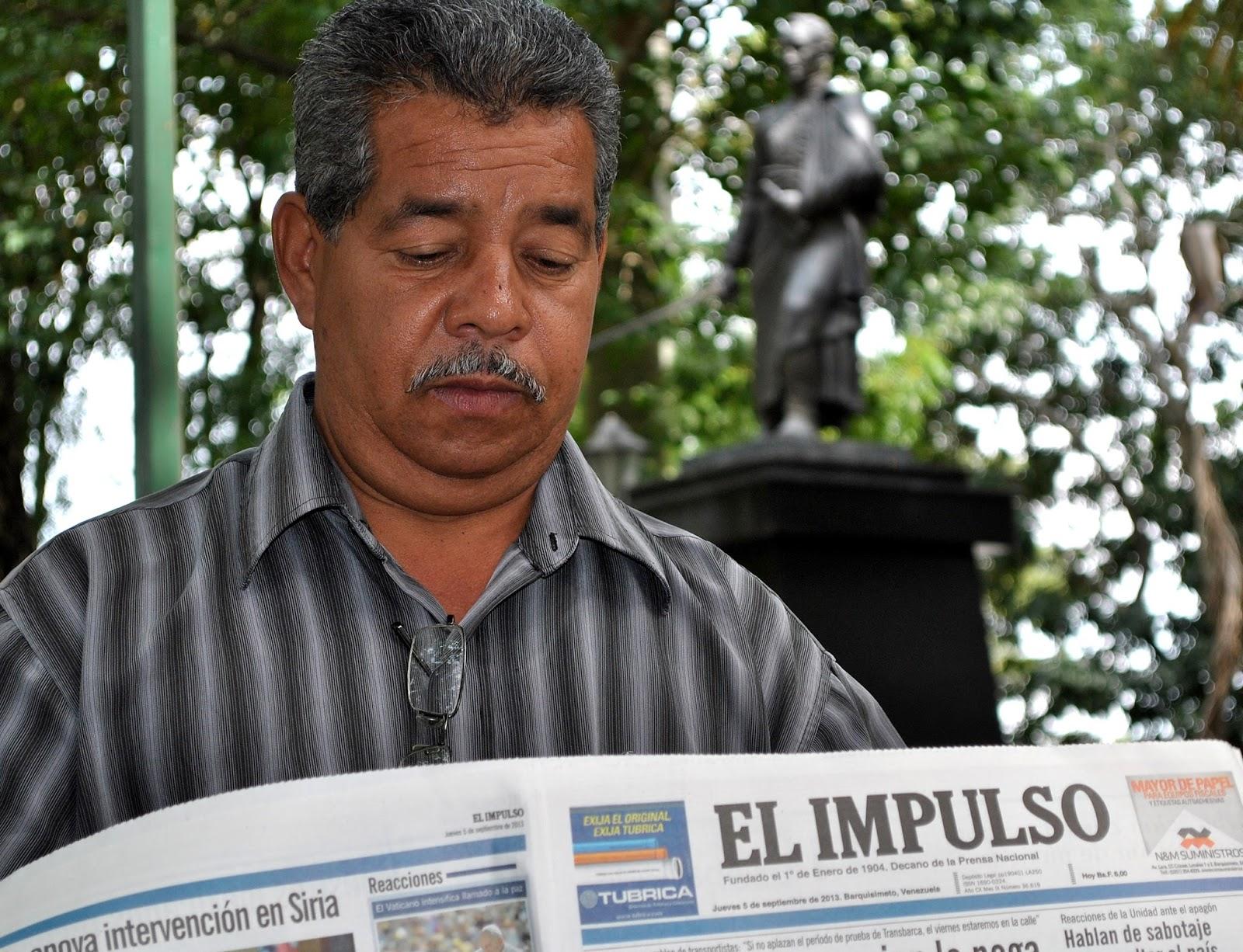 """Argenis Latiegue """"Crecí en Cabudare leyendo EL IMPULSO"""""""