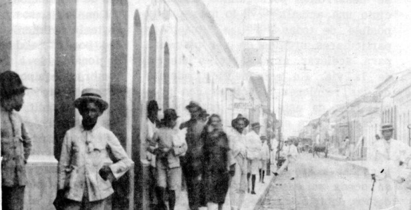 Calle comercio en 1929.ACTUAL AVENIDA 20.Barquisimeto.01/03/2007.