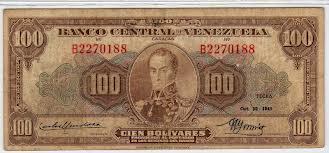 Cronología de la devaluación del bolívar