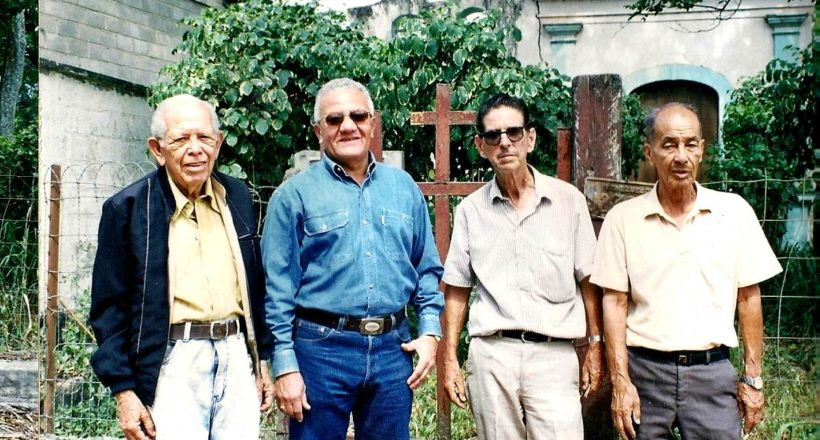 3 – Coché Rojas, Abundio Escalona, Eurípides Ponte y Julio Alvarez Casamayor. Año 1.998