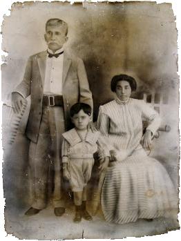 La histórica fotografía de la familia Ponte