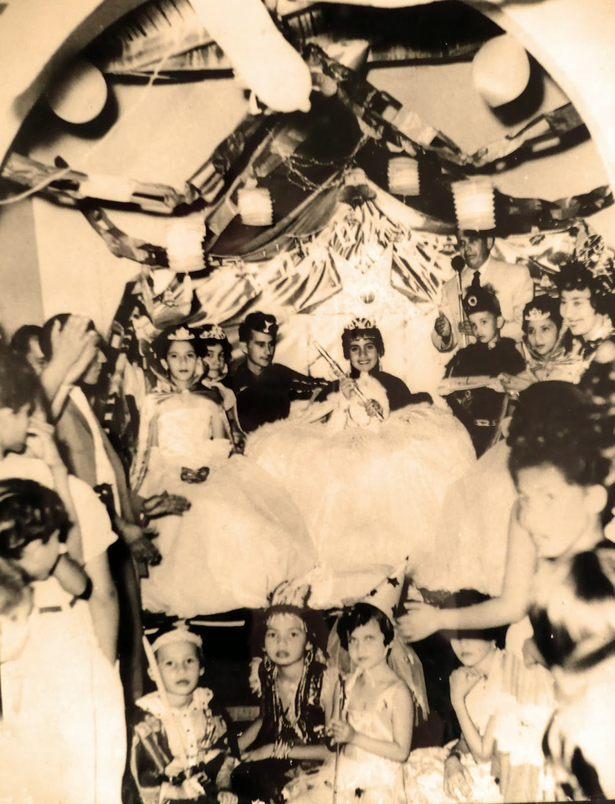Los Carnavales del Cabudare de antier