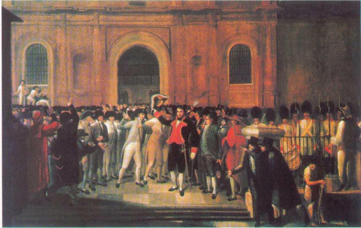 El 19 de Abril de 1810 fue un acto de fidelidad a la monarquía