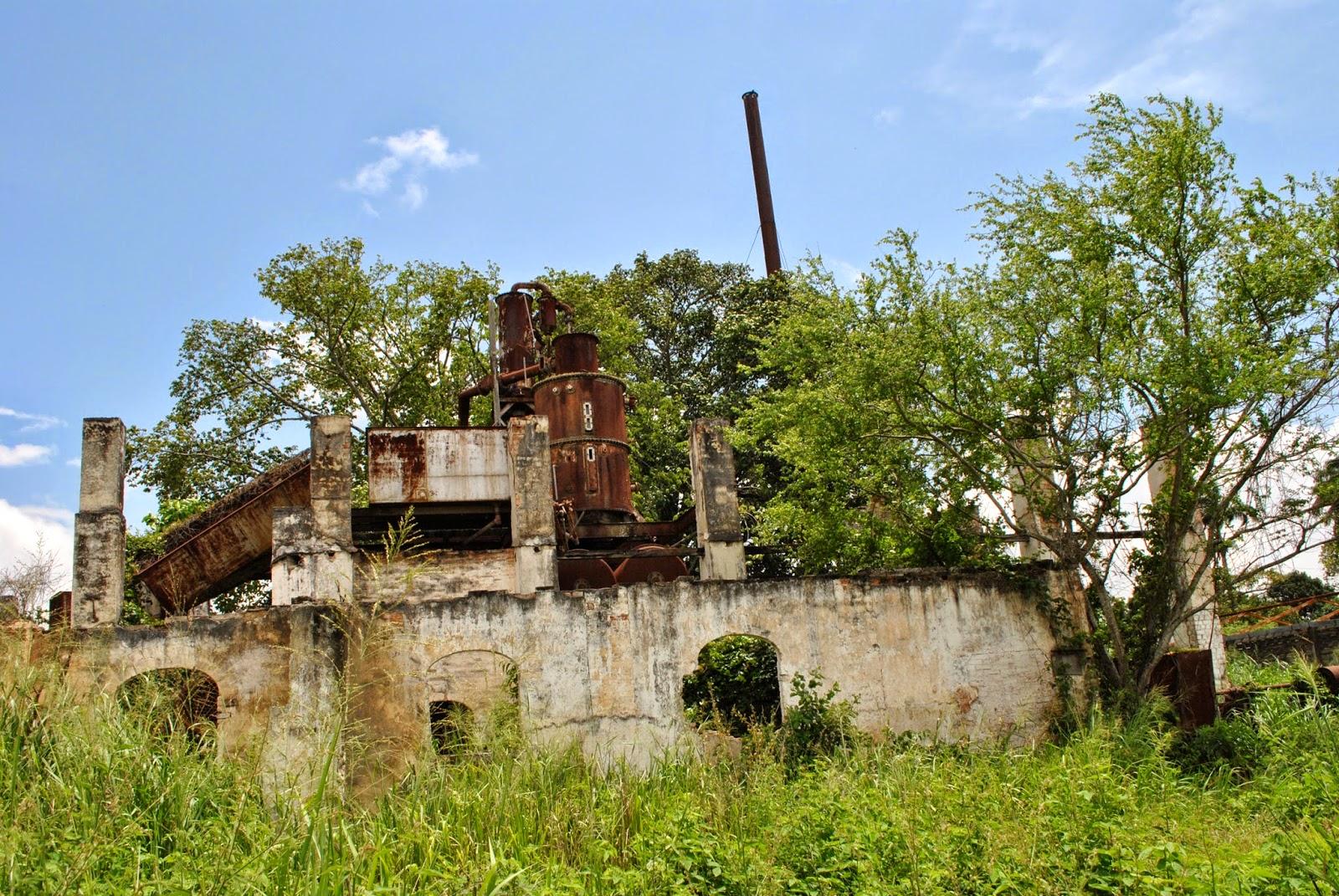 En situación ruinosa Central Tarabana y capilla Las Mercedes
