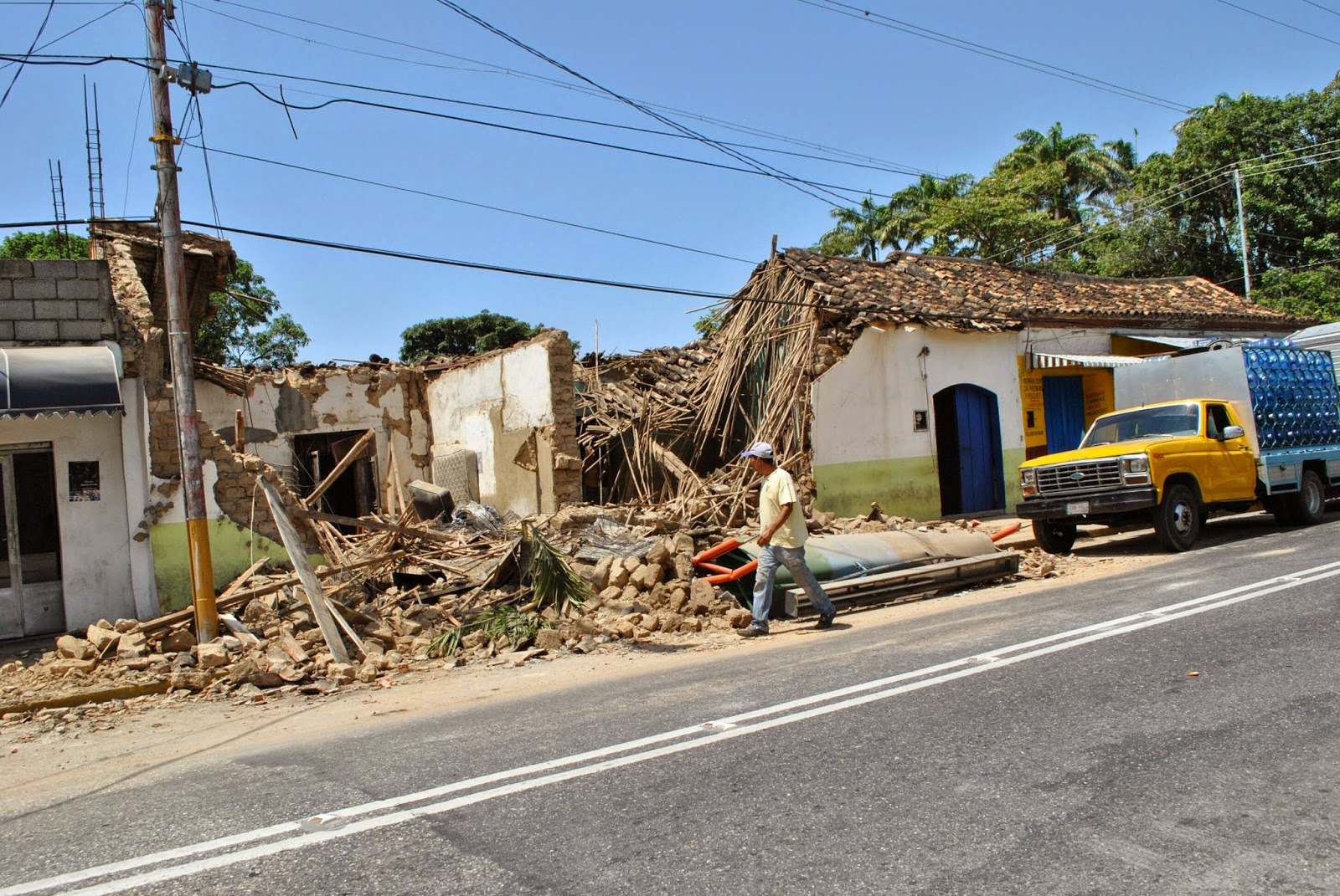 Se desploma casona de don Felipe Ponte en #Cabudare