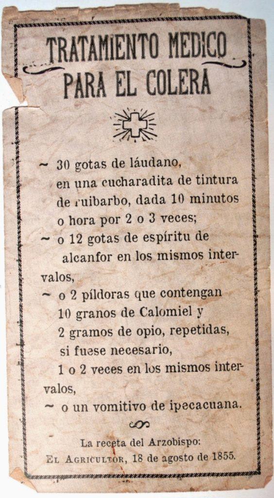 Cabudare ya tenía farmacia en el siglo XIX