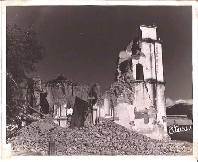 Terremoto de El Tocuyo en imágenes inéditas