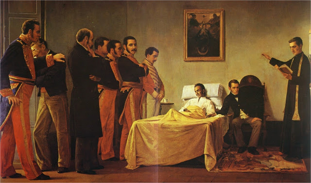 Muerte de Simón Bolívar: rodeada de enigmas