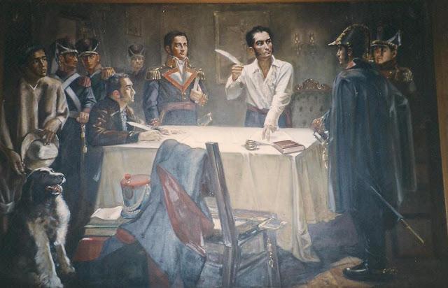 VIDEO En 1824 Simón Bolívar decretó la Pena Capital para los corruptos