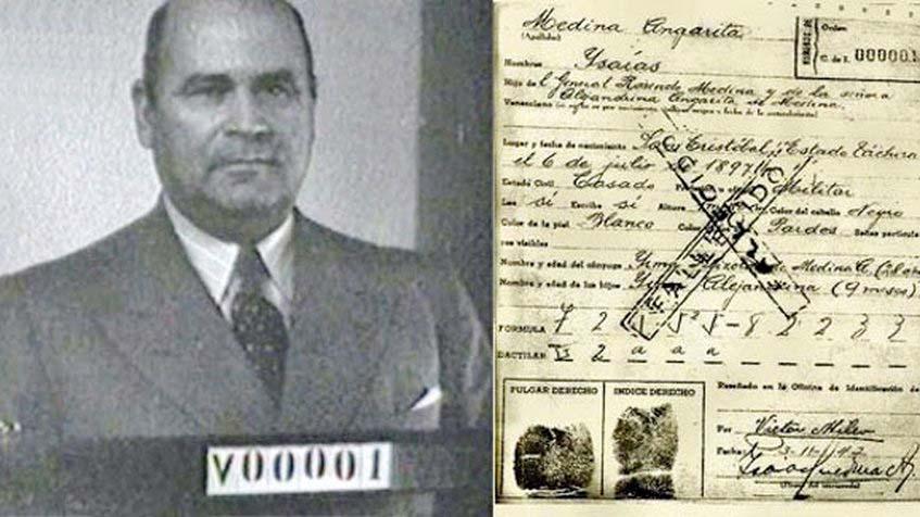 En 1942 se emitió la primera cédula de identidad en Venezuela