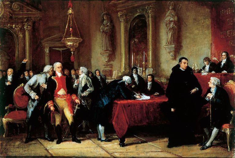 El 5 de julio no se firmó el Acta de Independencia de Venezuela