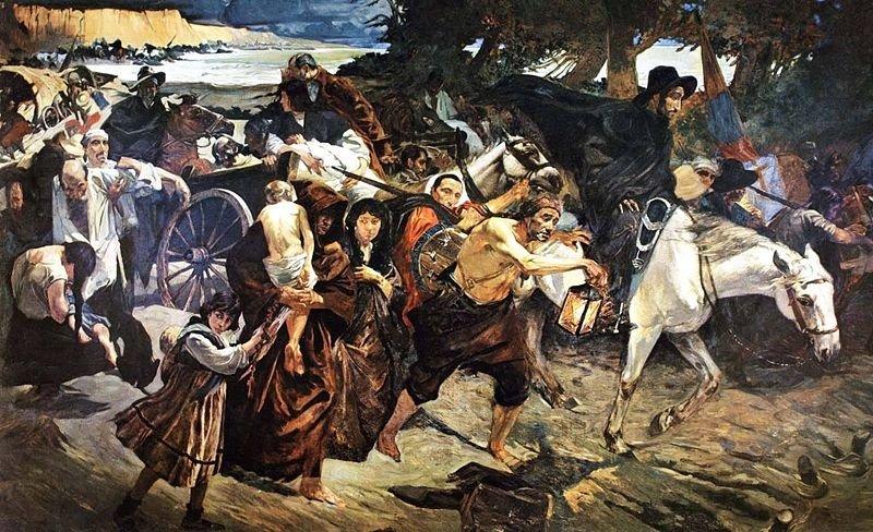 Diáspora de los caraqueños en 1814:  La emigración forzosa a oriente
