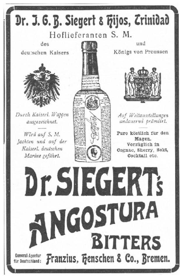 Amargo de Angostura, un legendario brebaje