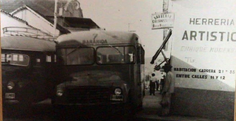 Antiguas rutas de transporte de Bqto