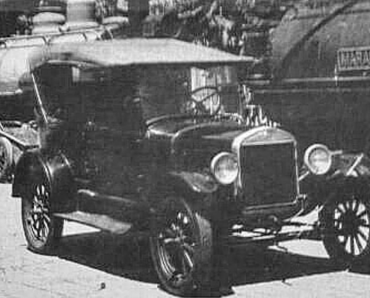 En 1929 Barquisimeto ya poseía registro de vehículos matriculados