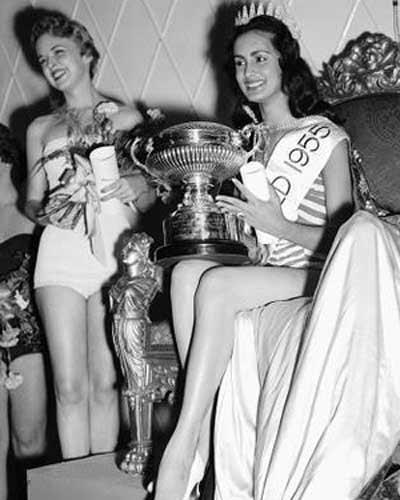 """La """"reina pepiada"""" fue bautizada en honor a Miss Mundo"""