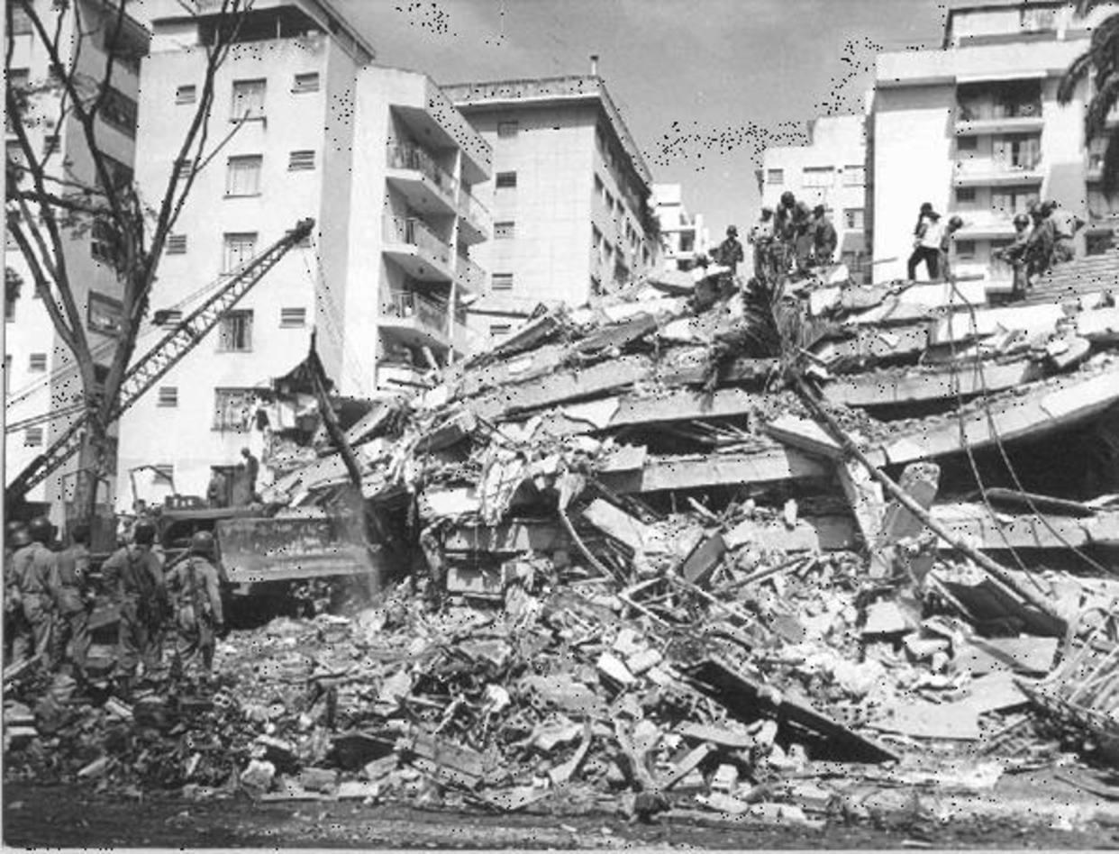 El Terremoto de Caracas de 1967 dejó más de 250 fallecidos y 2.000 heridos