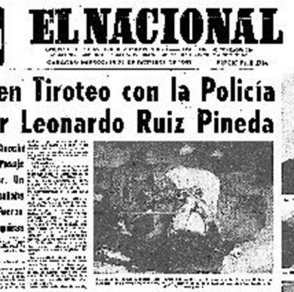 El Nacional sobre asesinato de Ruiz Pineda