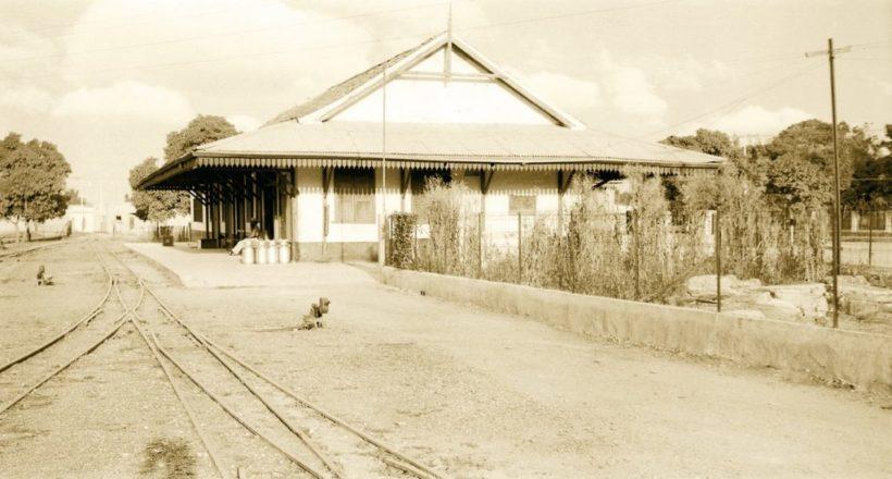 El tramo inicial del Ferrocarril Bolívar fue inaugurado en 1877