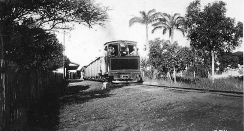 Ferrocarril Bolívar, 1928. Foto archivo de Florencio Sequera Jiménez. Digitalizada por Luis Perozo Padua Correo de Lara