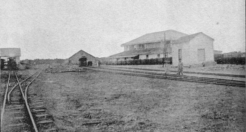 Ferrocarril Bolívar. Estación Tucacas