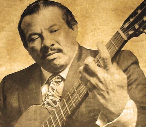"""El """"chueco""""  Rodrigo Riera: de limpiabotas a concertista y profesor de guitarra"""