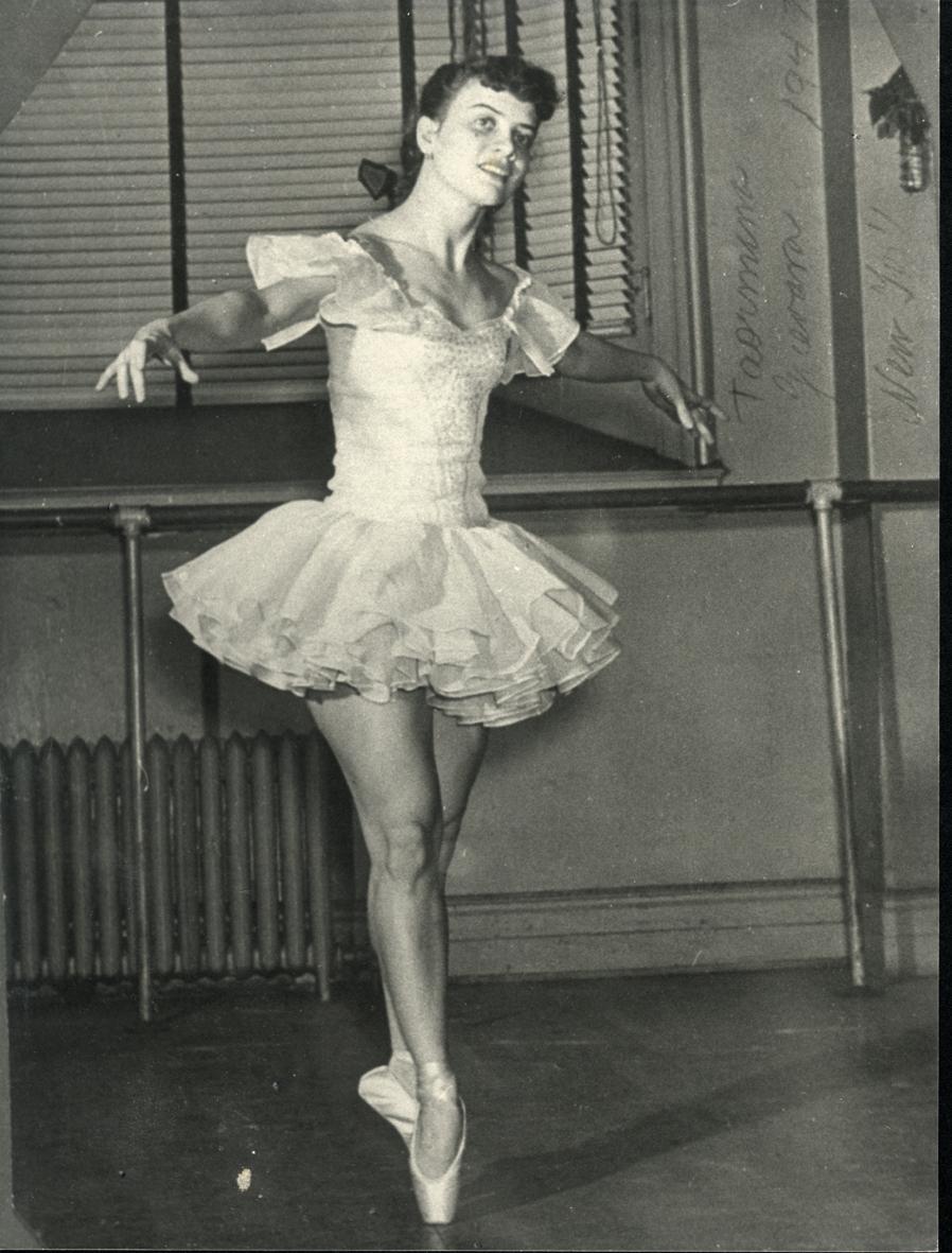 Un accidente fatal sacó a Taormina Guevara del escenario pero nunca del ballet