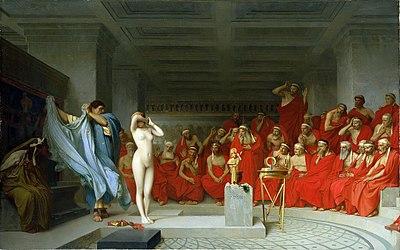 El juicio de Friné (391 aC)