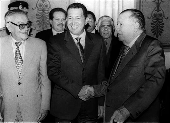 Andrés Velásquez, Fermín y Álvarez Paz pidieron en 1993 liberar a Hugo Chávez