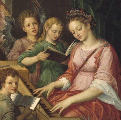 Santa Cecilia. Michiel Coxcie (1569)