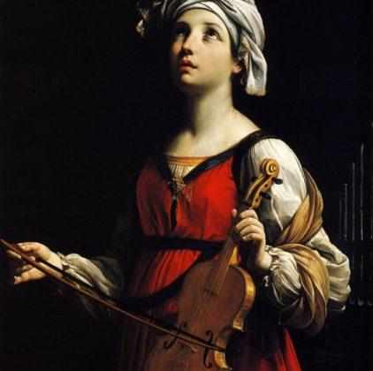 St Cecilia – Guido Reni