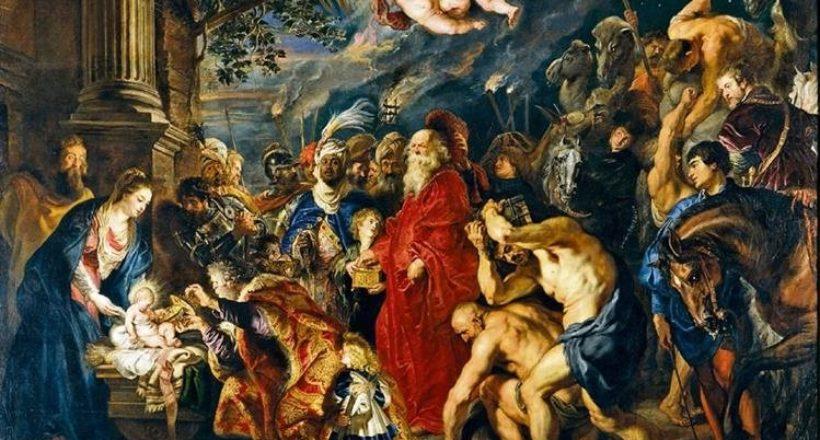Adoración de los Magos, El Greco