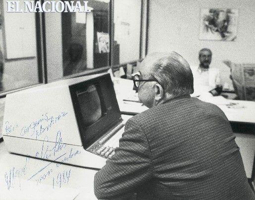 La llegada de las computadoras a El Nacional en 1979: fiesta con noticias
