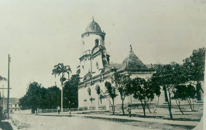 Cómo era el templo de la Inmaculada Concepción
