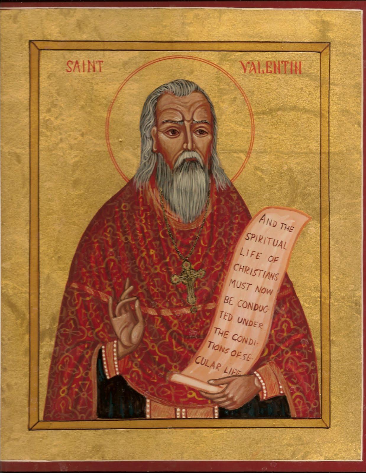 San Valentín, nada que ver con Cupido