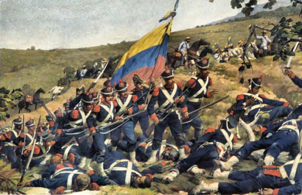 """""""Una Legión Británica, protectora de nuestra Libertad, ha llegado a Venezuela"""""""