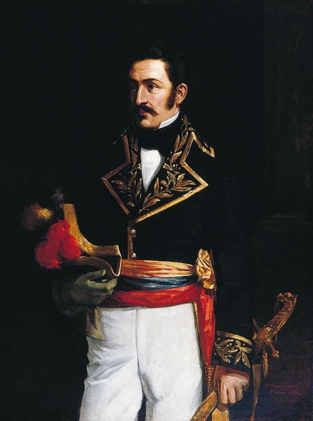 José Félix Ribas en la Batalla de Los Horcones, 1813
