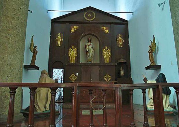 Altar menor de la iglesia de San Francisco – copia