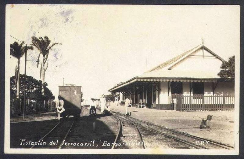 El primer ferrocarril