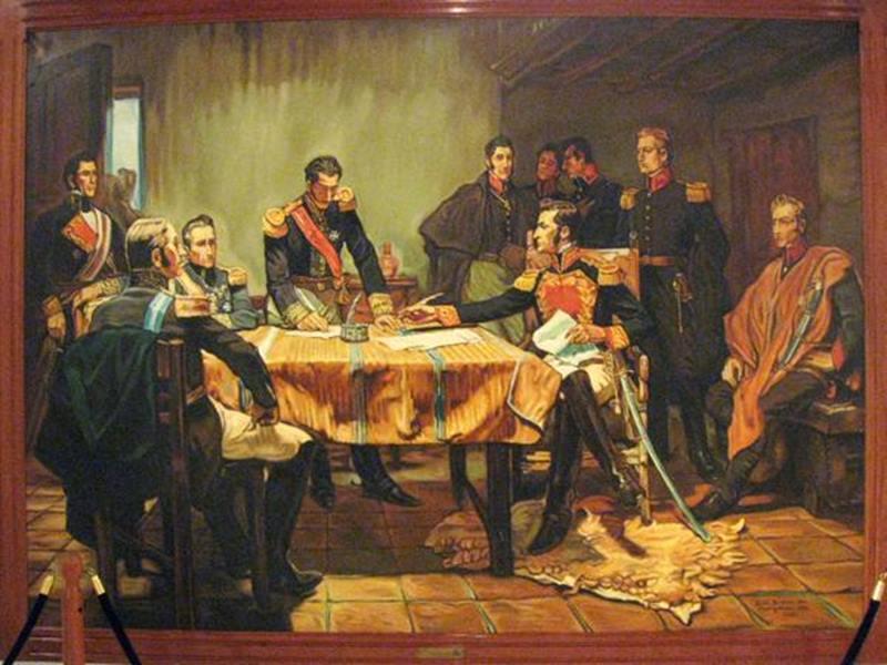 El juicio a Santander frente al atentado a Simón Bolívar