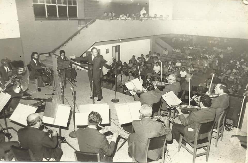 Cuando la Orquesta Típica Municipal debutó en el Teatro Juares